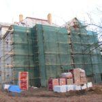 Stav domu v Roztokách u Prahy před rekonstrukcí