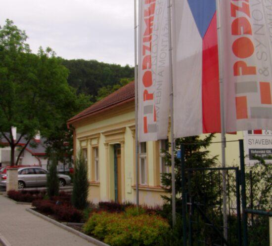 firemní sídlo v Praze Chuchli
